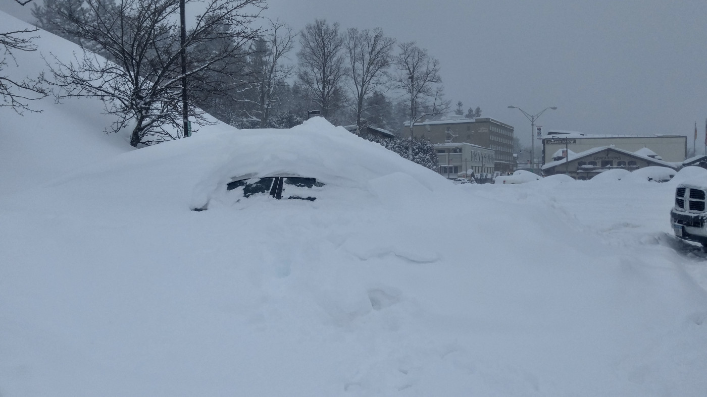 My Car in Lake Placid