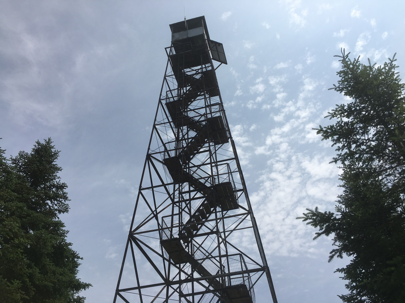 The Wakely Mountain fire tower.