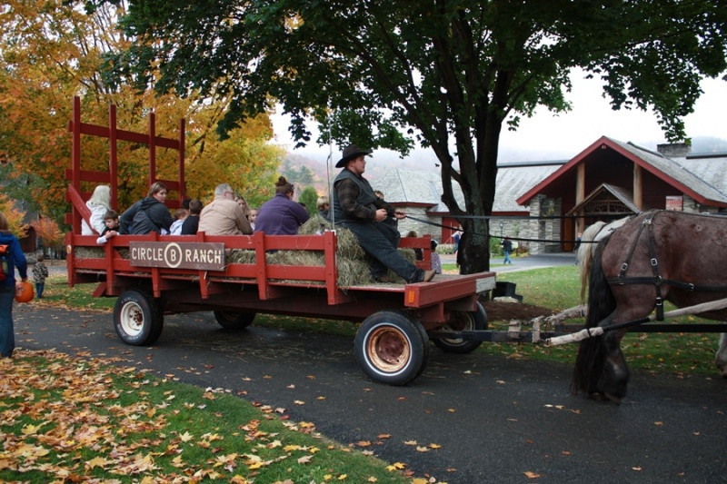 Fall Fest at Adirondack Experience, the Museum on Blue Mountain Lake