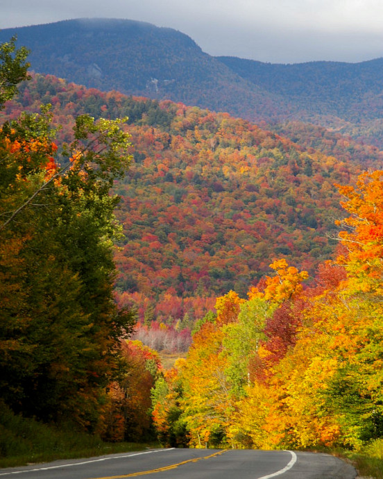 Speculator fall foliage