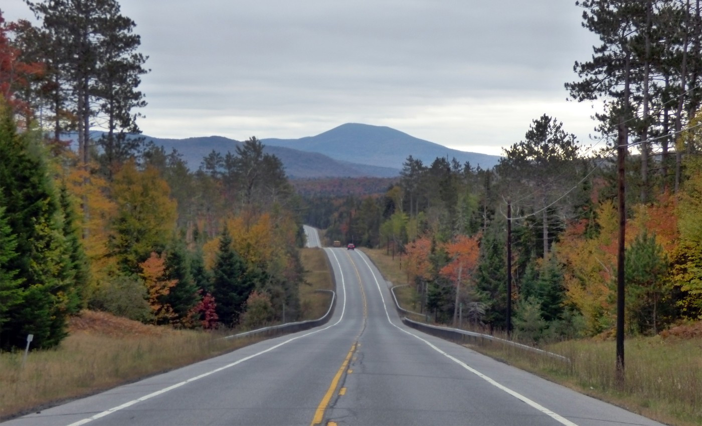 Heading to Long Lake from Tupper Lake