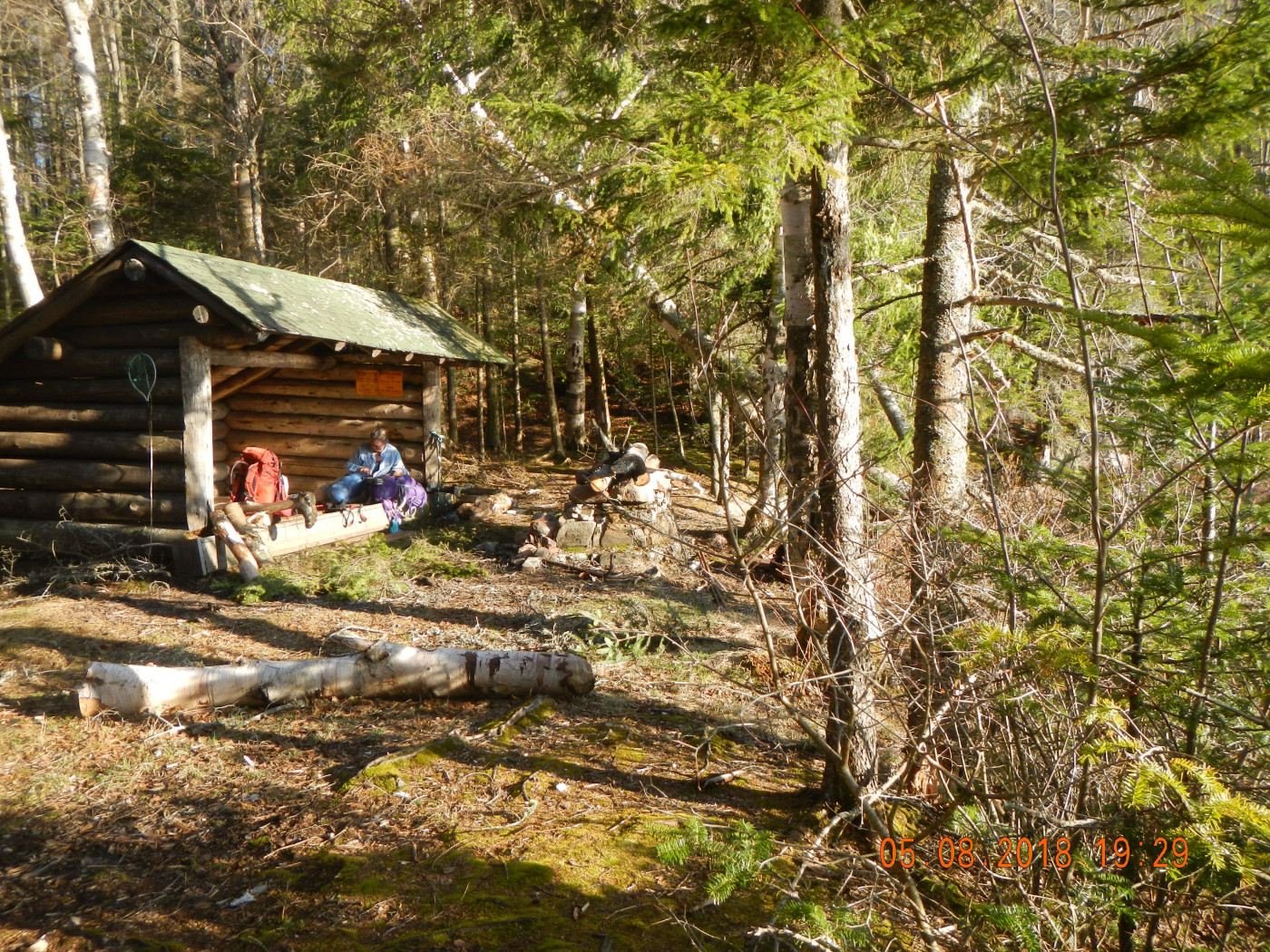 Lean-to on the Northville-Placid Trail