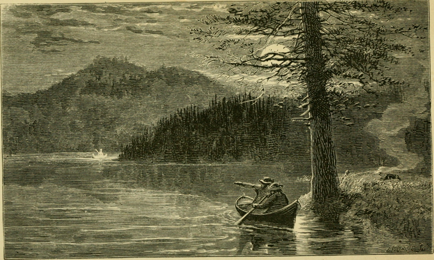Engraving from Murray's Adventures in the Wilderness.