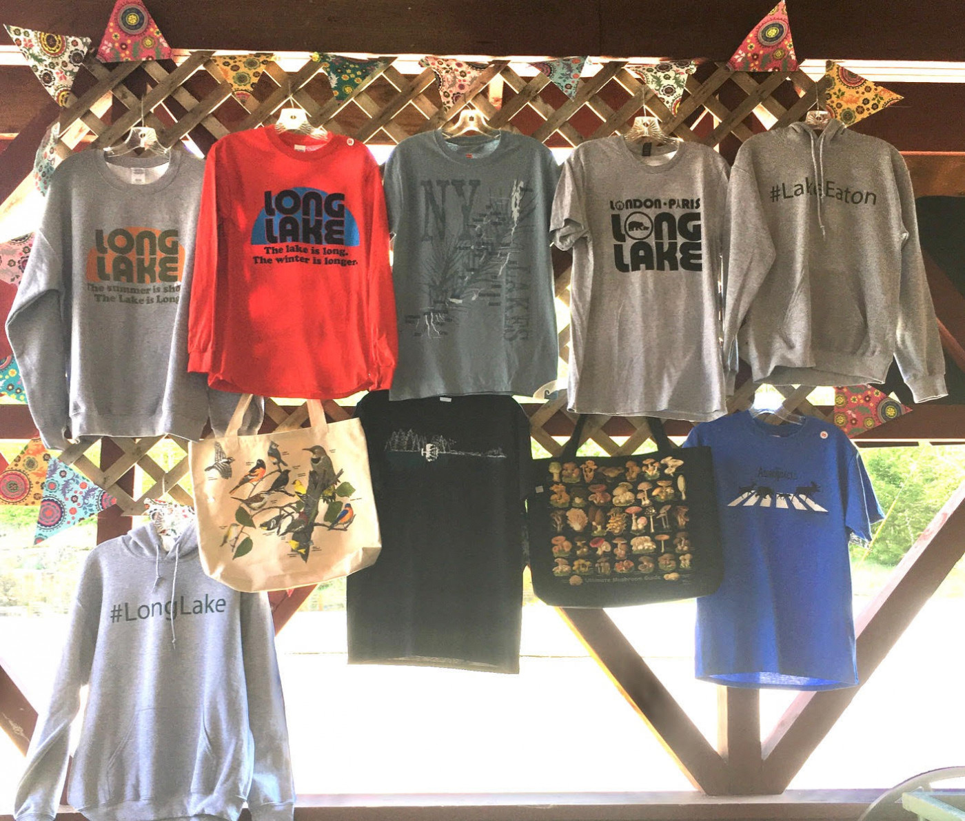 Long Lake Apparel from ADK Trading Post
